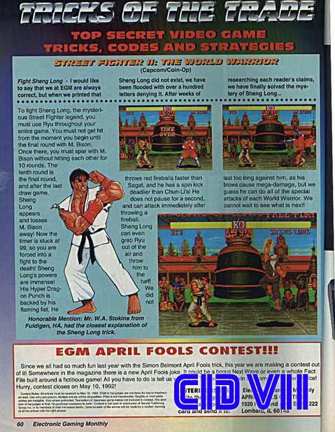 Artículo original en la revista Electronic Gaming Monthly