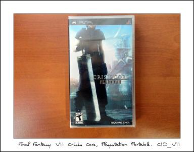 final fantasy vii crisis core psp